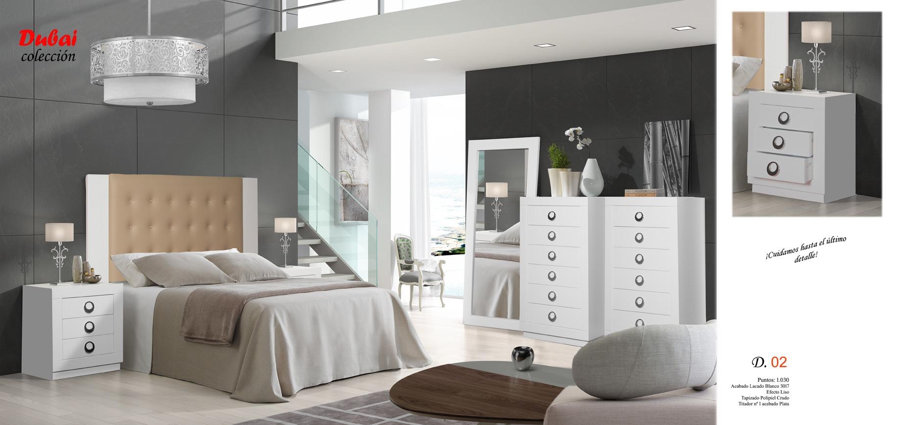 03 Dubai Dormitorio Muebles los barriales