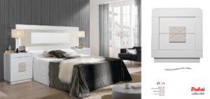05 Dubai Dormitorio Muebles los barriales