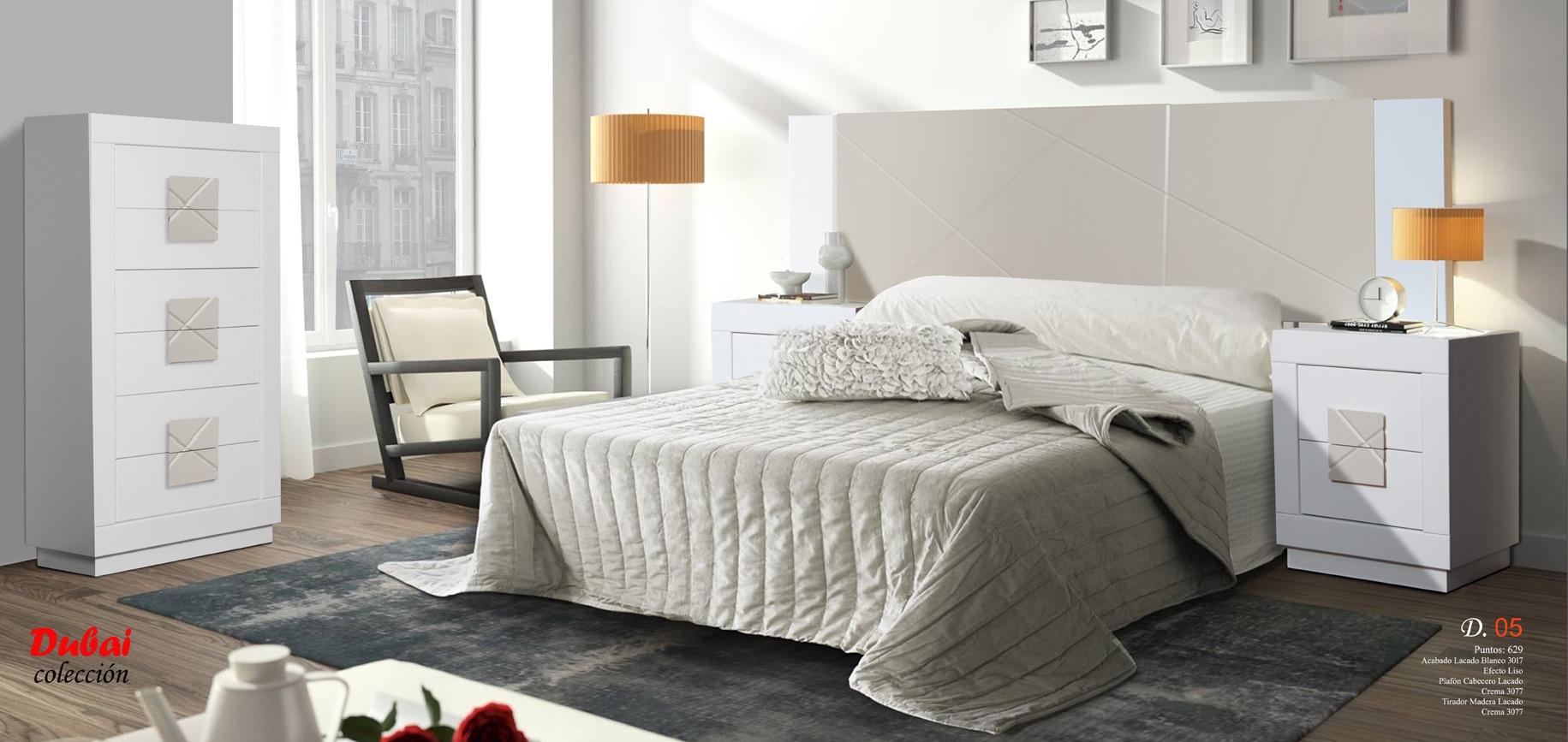 06 Dubai Dormitorio Muebles los barriales
