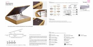 Catalogo colchones y canapes muebles los barriales 2019 019