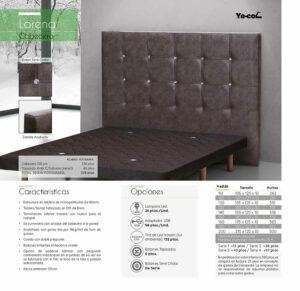Catalogo colchones y canapes muebles los barriales 2019 093