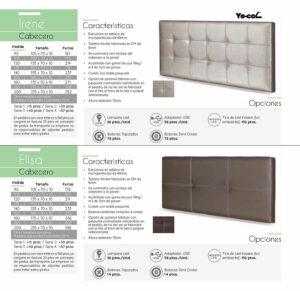 Catalogo colchones y canapes muebles los barriales 2019 097