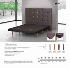 Catalogo colchones y canapes muebles los barriales 2019 099