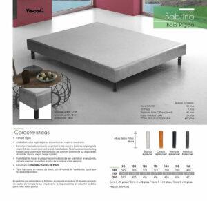 Catalogo colchones y canapes muebles los barriales 2019 102